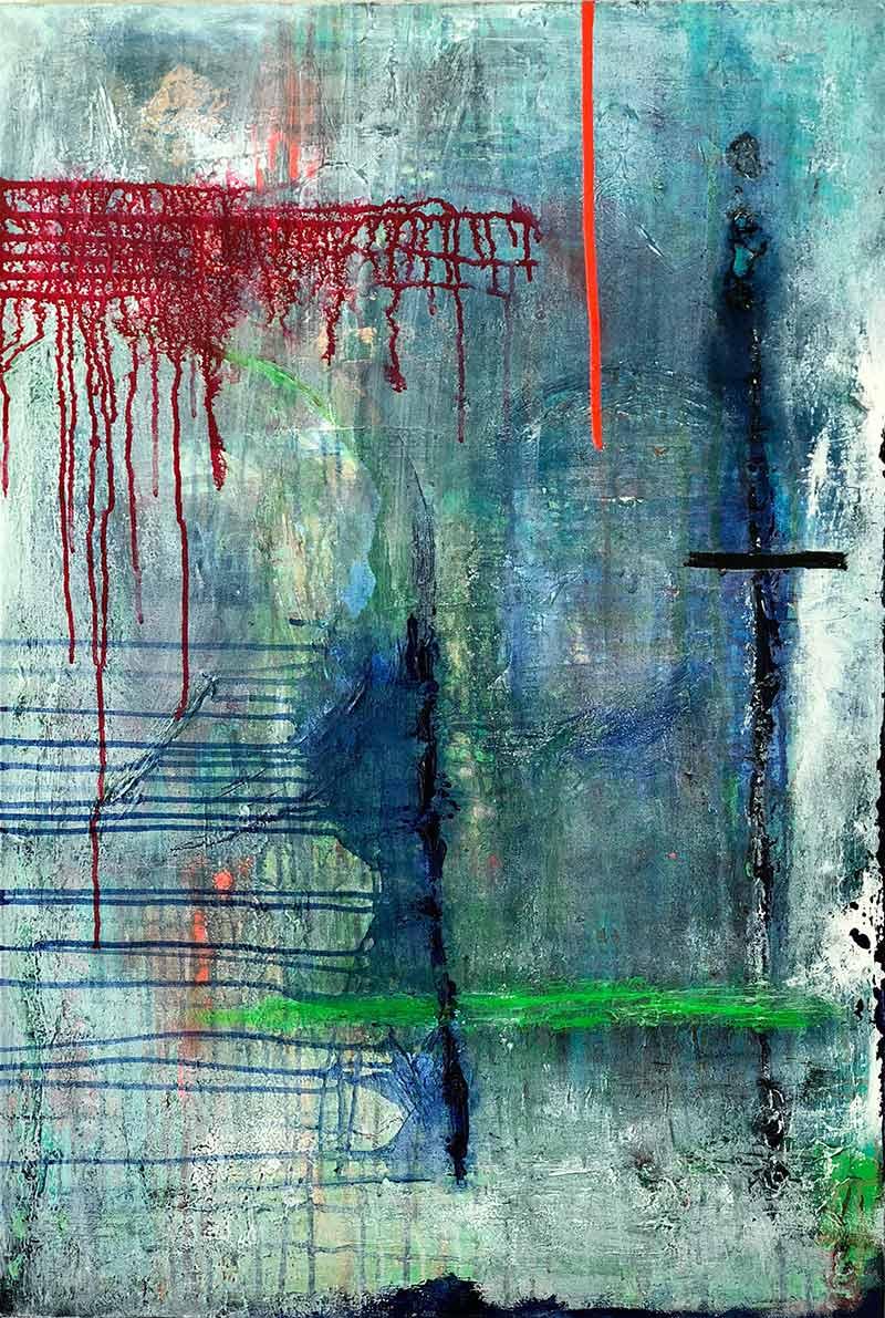 Heartbreak by Chuck Prescott | 24X36 in | Acrylic on Canvas