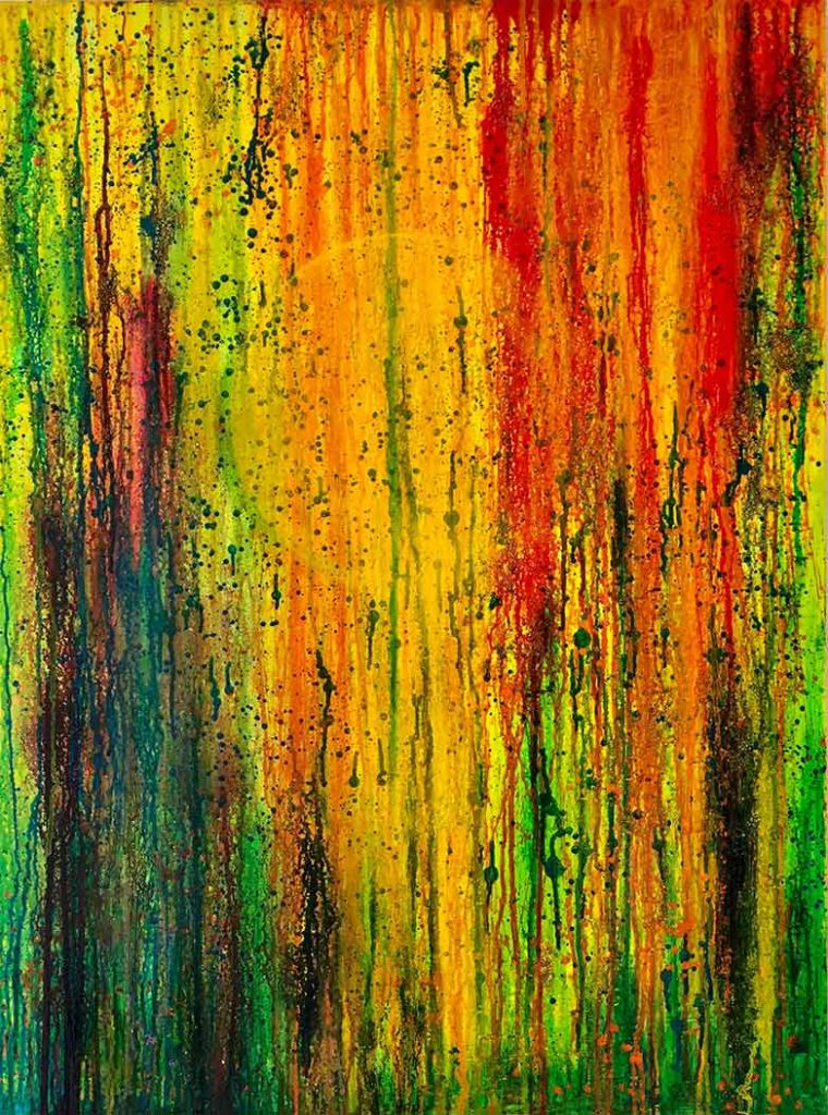 Rise by Chuck Prescott | 30X40 in | Mixed Media on Canvas