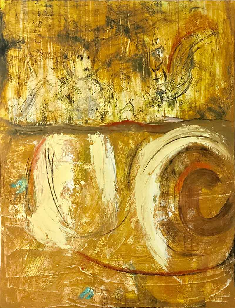 Little Bird by Chuck Prescott | 36X60 in | Acrylic on Canvas