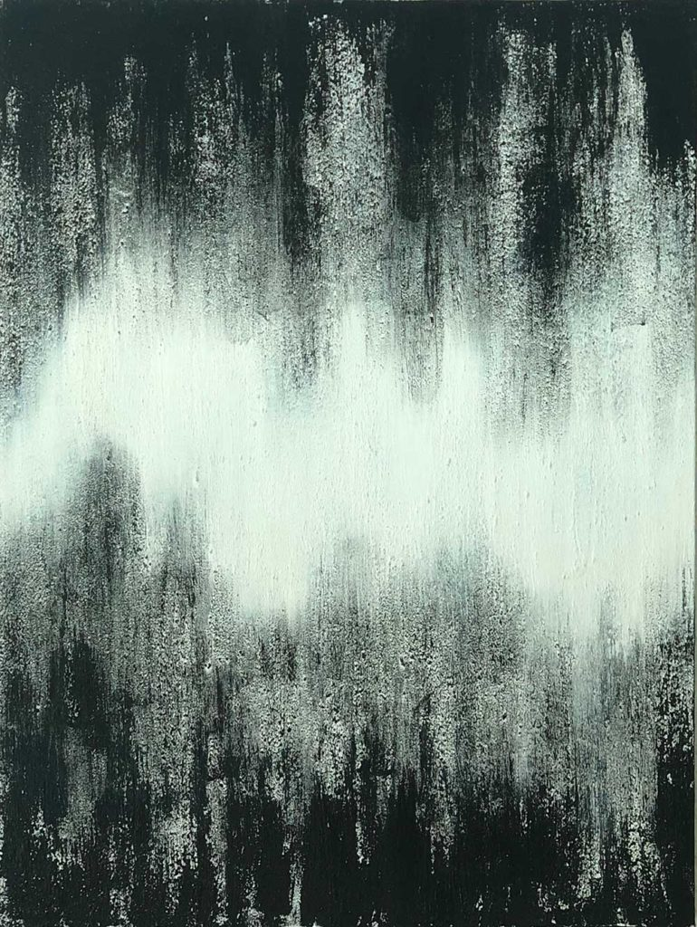 Static by Chuck Prescott | 30x40 in | Mixed Media on Canvas