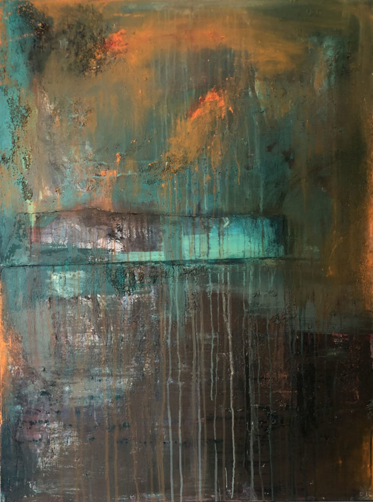 Mystic by Chuck Prescott | 36 X 48 in | Mixed Media on Canvas